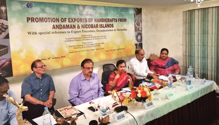 EPCH & ACCI organise seminar for Promotion of Exports of Handicrafts