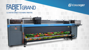 ColorJet to launch widest width Digital Textile Printer at
