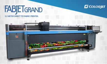 ColorJet to launch widest width Digital Textile Printer at Heimtextil