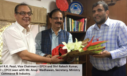 EPCH took up matter of exports of handicrafts to Iran with govt.