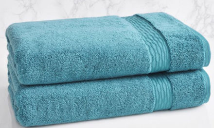 CertainT recycled bath towels by Loftex