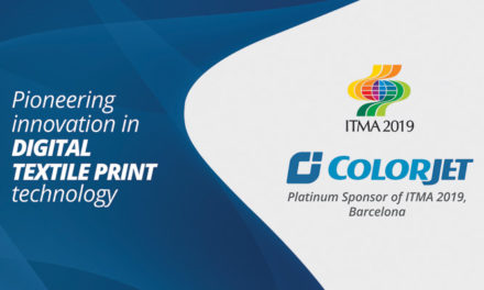 ColorJet Becomes Platinum Sponsor at ITMA 2019