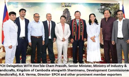 Indian delegation visits Cambodia for sharing techniques of production
