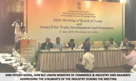 Joint meeting of Board of Trade and Council for trade development and promotion