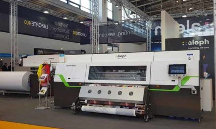 New scanning printing systems and flagship solutions by ALEPH @ITMA 2019