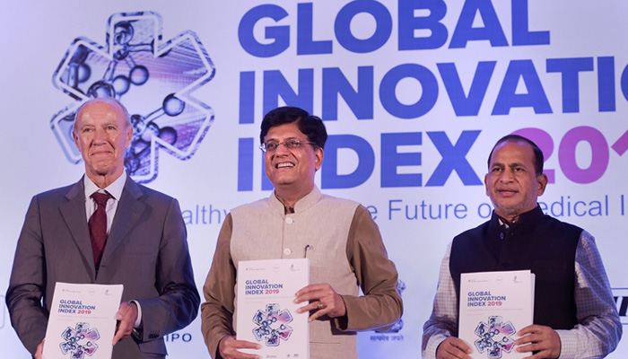India ranks 52nd in Global Innovation Index 2019