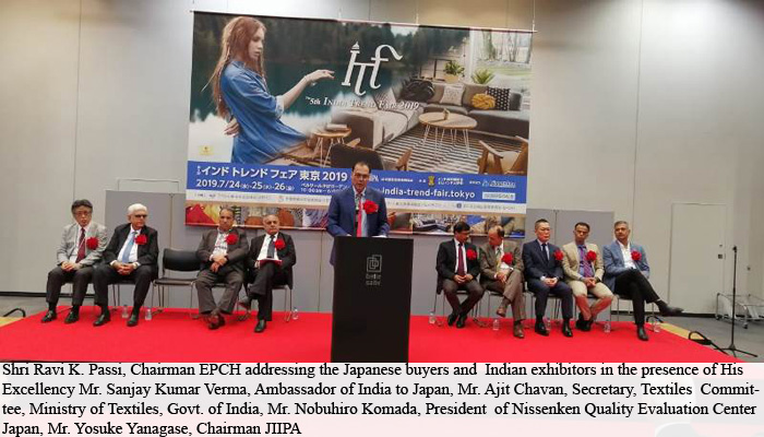 Indian handicrafts and textiles attract Japanese buyers at India Trends Fair