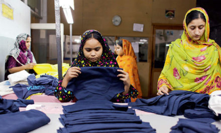 Pakistan's textile articles exports increase