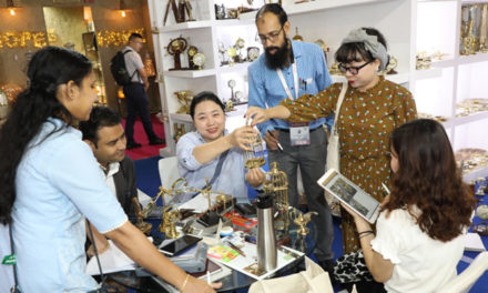 Indian exhibitors overwhelmed with response at IHGF-Delhi Fair