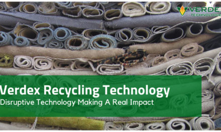 PET carpet recycling technology by Verdex