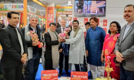 Development Commissioner inaugurates India Pavilion at AF-l Artigiano