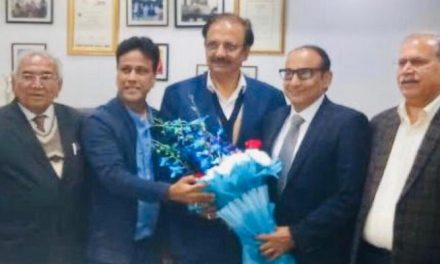 Rajesh Kumar nominated as President of social media of EPCH