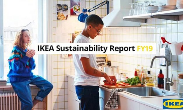 IKEA's sustainability report shows decrease in climatic impact