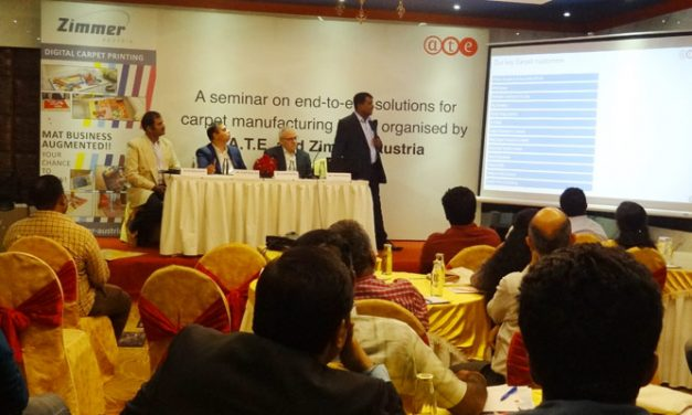 A.T.E. conducts seminar on 'End-to-end solutions for carpet manufacturing'